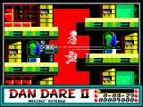 Dan Dare II: Mekon's Revenge ZX Spectrum Level 1 (as <i>Mekon</i>):<br>