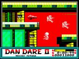 Dan Dare II: Mekon's Revenge ZX Spectrum Level 1 (as <i>Mekon</i>): Laser Turret.