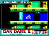 Dan Dare II: Mekon's Revenge ZX Spectrum Level 2 (as <i>Dan</i>): Starting Point.<br>