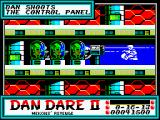 Dan Dare II: Mekon's Revenge ZX Spectrum Level 2 (as <i>Dan</i>): Speaking of rows.<br>