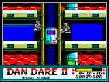 Dan Dare II: Mekon's Revenge ZX Spectrum Level 2 (as <i>Dan</i>): <i>Elevator action</i>.<br>