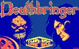 Deathbringer DOS Title screen (CGA)