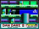 Dan Dare II: Mekon's Revenge ZX Spectrum Level 3 (as <i>Dan</i>): Thumb Sucking <i>Super Treen</i>.<br>
