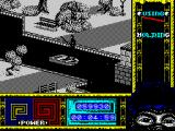 "Ninja Remix ZX Spectrum Level 1, ""The Park"": The boat.<br>