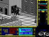 "Ninja Remix ZX Spectrum Level 2, ""The Street"": Hot dog traffic.<br>