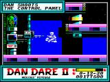 Dan Dare II: Mekon's Revenge ZX Spectrum Level 4 (as <i>Dan</i>):. Control Panel and Force Field Generator<br>