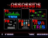 The Assassins: PD Games Volume 01 Amiga After a short delay the player is shown this screen from which they select their game