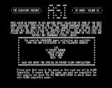 The Assassins: PD Games Volume 02 Amiga The game's information screen followed a virus check