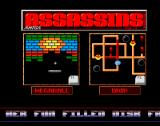 The Assassins: PD Games Volume 03 Amiga The game selection screen