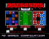 The Assassins: PD Games Volume 250 Amiga The game selection screen