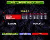 International Sensible Soccer Amiga World Cup groups