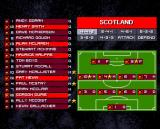 International Sensible Soccer Amiga CD32 Apart from your team, you may also check your opponent in order to choose suitable tactics.