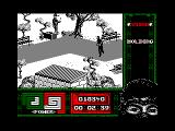 "Ninja Remix Amstrad CPC Level 1, ""The Park"": The Joggler.<br>