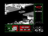 "Ninja Remix Amstrad CPC Level 1, ""The Park"": One Jump.<br>