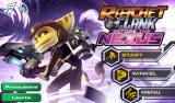 Ratchet & Clank: Before the Nexus Android Main menu (Dutch version)