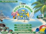 Build It Green: Back to the Beach Windows Main screen
