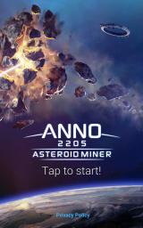 Anno 2205: Asteroid Miner Android Title screen