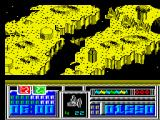 Leviathan ZX Spectrum An example of a fight. If you defeat all enemies at first landscape game will start again on same landscape, but with increased difficulty. Maximum difficulty - 10 level.