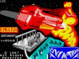 Leviathan ZX Spectrum Loading screen.