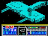 Leviathan ZX Spectrum First part of the second level - Cityscape.