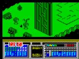 Leviathan ZX Spectrum Third part of the second level - Cityscape.