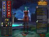 World of Warcraft: Cataclysm Windows Creating a night elf character.