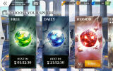 Gods of Rome Android The available sphere types
