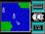 Super Stuntman ZX Spectrum Level 2: Speed Boat Chase. Relatively easy level. Main thing is don't swim out to the land.