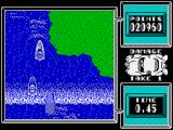 Super Stuntman ZX Spectrum Level 6: Wild Water Scene. In general, similar to 2 level, but there are two waterfalls.
