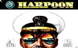 Harpoon & Battleset 2 Amiga Title screen