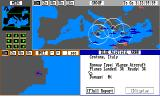 Harpoon Battleset 3: The MED Conflict Amiga Main map