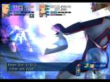 Xenosaga: Episode I - Der Wille zur Macht PlayStation 2 Enemy mech using laser beam attack against Ziggy
