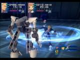 Xenosaga: Episode I - Der Wille zur Macht PlayStation 2 Ziggy using physical attack against a mech