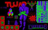 TUJAD Amstrad CPC Loading Screen.