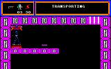 TUJAD Amstrad CPC Finishing the process of teleporting.