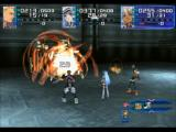 Xenosaga: Episode I - Der Wille zur Macht PlayStation 2 Ziggy, KOS-MOS and Chaos in a fierce boss battle