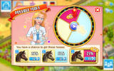 Horse Haven: World Adventures Android The wheel of fortune to determine the result of a breed.