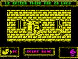 Brat Attack ZX Spectrum Collect a power punches bonuses.