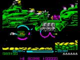 R-Type ZX Spectrum Level 3  - Giant Warship.