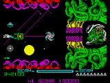 R-Type ZX Spectrum Boss of level 8 doesn't destroy by direct onslaught.