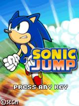 Sonic Jump J2ME Title screen