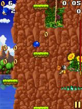 Sonic Jump J2ME As in any Sonic game you should collect the rings.