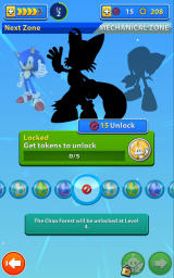 Sonic Jump Fever Android Here you select a character and a Chao.