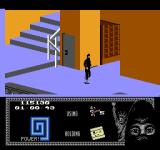 "Last Ninja 2: Back with a Vengeance NES Level 5, ""The Mansion"": The ""Secret Door..."".<br>
