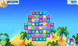 Scrubby Dubby Saga Android Make matches on tiles with foam to remove it (Dutch version).