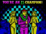Continental Circus ZX Spectrum You're an F1 Champion.