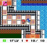 Azure Dreams Game Boy Color First floor
