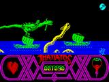 Thanatos ZX Spectrum Marine serpents.<br>