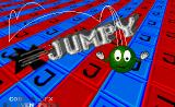 Jumpy Amiga The title screen