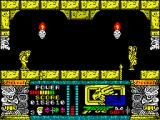 Jungle Warrior ZX Spectrum After killing of the third tribal leaders opened the hatch to the caves. But the natives will not notice and will continue to step on the void. Amazing naive natives.